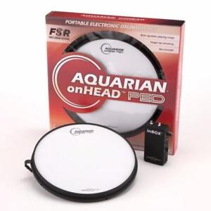 "Aquarian 14"" pad électronique portable usagé/electronic drumsurface - used"