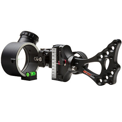 New Apex Covert Pro Illuminated Green LED Dot Bow Sight AG2300GB