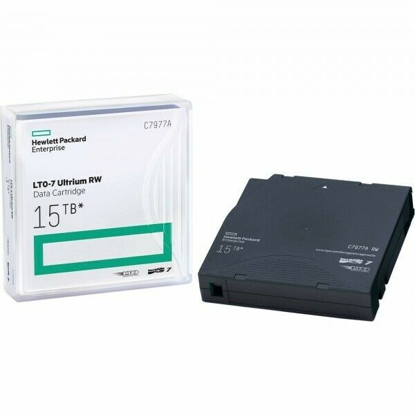 HPE C7977A , LTO-7 Data Backup Tape (6.0TB/15TB)