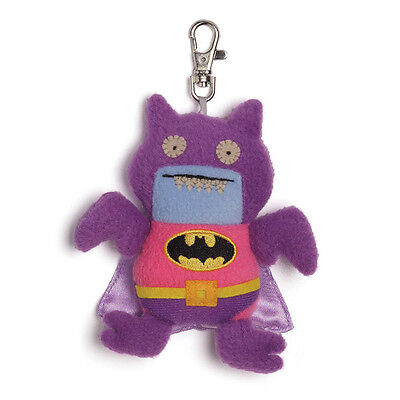 Gund Ugly Dolls Uglydoll Ugly Doll Dc Comics Pink Purple Batman Ice Bat Clip Mwt