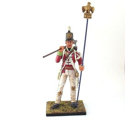 Sergeant Masterson of the 87th with captured french eagle Cold Steel Miniatures
