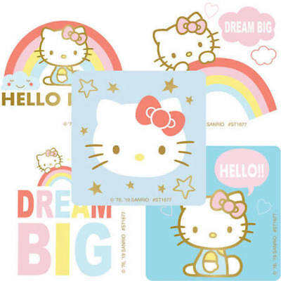 Hello Kitty Supplies (25 Hello Kitty Dream Big Stickers Party Favors Teacher Supply Sanrio)