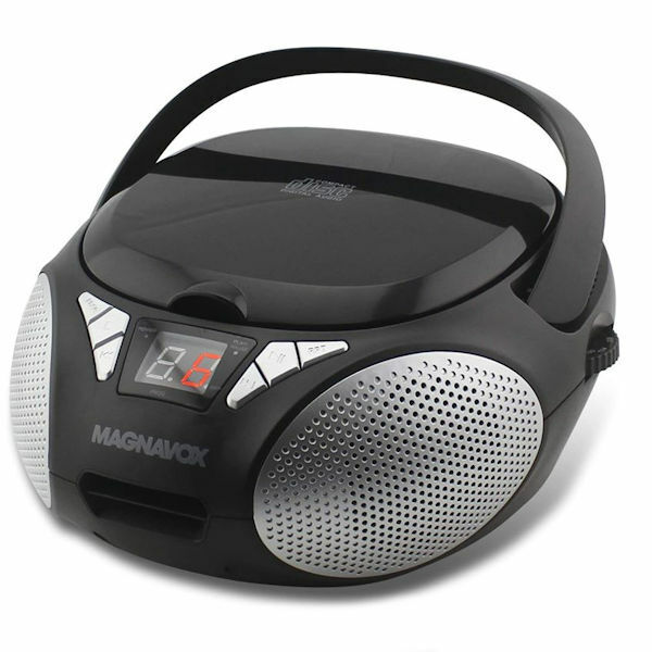Magnavox CD Boombox with AM/FM Stereo Radio in Black (MD6924)