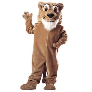 Corby Cougar Professional Quality Mascot Costume Adult Size