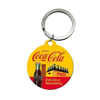 COCA COLA Schlüsselanhänger Delicious Refreshing Keychain Softdrink Coke NEU OVP