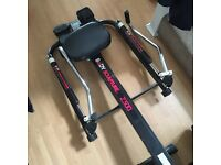 Rowing/sculling machine