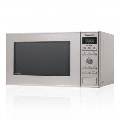 Panasonic NN-DF385MEPG Inverter Mikrowelle//Grill silber