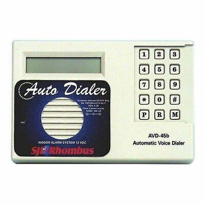 SJE Rhombus Auto Dialer Alarm System 1012019 12vdc Auto Dialer-alarm-system