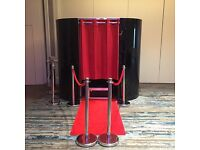 Photobooth £199 3 hour Photo Booth hire. Saturday 220 + free Red Carpet and Roped Barriers