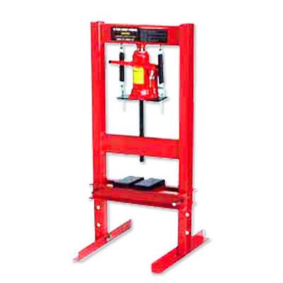 20 Ton Hydraulic Floor Standing Shop Press Heavy Duty Open H FRAME - 20 Ton Hydraulic Shop Press