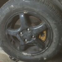 Integra rims and tires. 100$