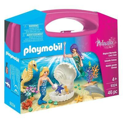 Playmobil Princess Magical Mermaids Carry Case Building Set 9324 NEW Toys