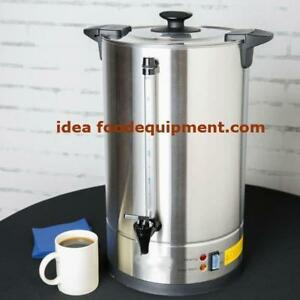 110 cup coffee urn peculator  - stainless steel - FREE SHIPPING