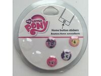 My little pony button stickers