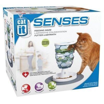 Catit Design Senses Cat Food Maze Feeding Toy Tray Mat Kitten Play Treat (50745)
