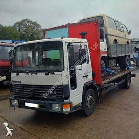 Left hand drive Volvo FL611 Turbo 11 ton truck. On springs suspension. TD61 engine.