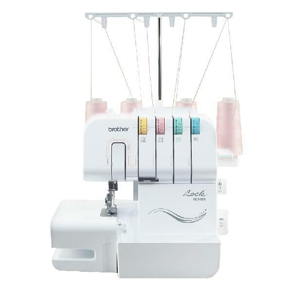Brother 3/4 Thread Serger with Differential Feed, 1,300 Stit