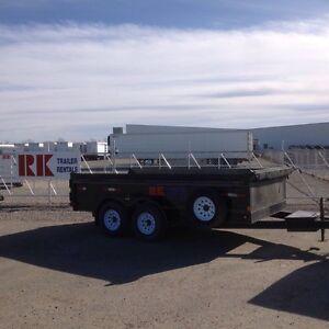 Dump, enclosed and car / equipment trailer rentals