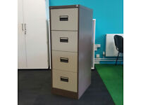 4 Drawer Silverline Executive Filing Cabinet 11available
