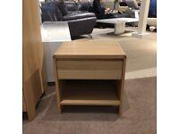 Oak bedside table BRAND NEW