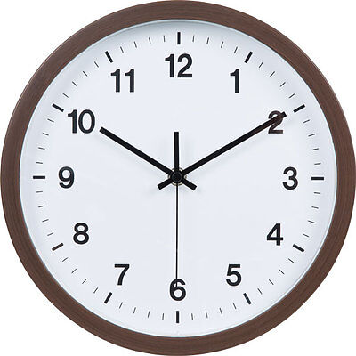 "From Japan Nitori Wall Clock Dark brown (Smart 2) ""Code: 8172478"" / Tracking SAL"