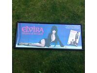 Elvira Mistress of the dark framed film picture