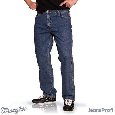 WRANGLER TEXAS STRETCH STONEWASH Jeans W31 bis W40 Herren denim Hose Wash Denim Hose