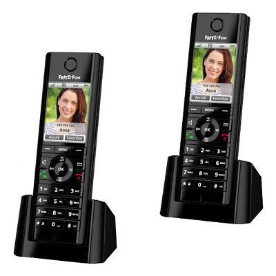2x AVM FRITZ!Fon C5 VoIP DECT Telefon Smart Home FritzBox Anrufbeantworter
