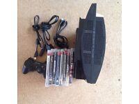 PS3 80gb + 8 Games