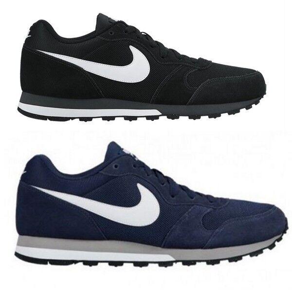 e9a50edf9ee14 Nike Herren Männer Trend Sport Freizeit Fitness Leder Schuhe RUNNER MD  749794