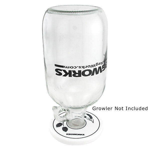 Beer Growler Collar - Growler Drying Stand - Bar & Pub Draft Drinking Gift Tool