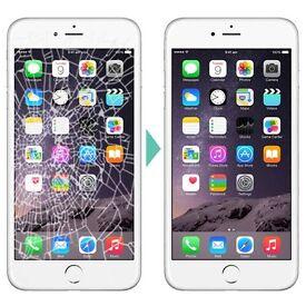 iphone 6 broken damaged LCD