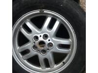 5 Range Rover Hurricane Alloys suitable for VW T4