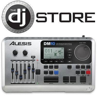 Alesis DM10 High Definition Electronic Drum Module w/ Dynamic Articulation