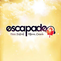 General Admission tickets for Escapade Music Festival 2015