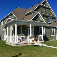 Wasage Beach-2600 sq foot total 4 bed 4 bath on golf course