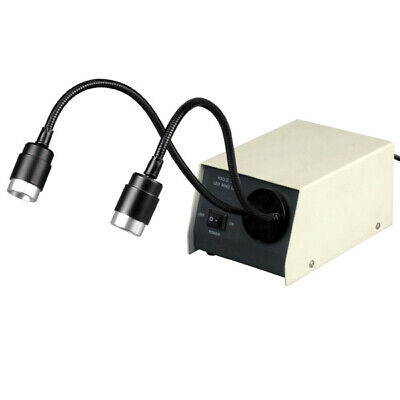 Amscope 14-led Dual Gooseneck Microscope Lights Led-14m