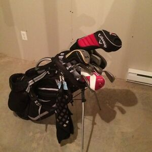 Complete adult golf set