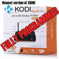 FULLY PROGRAMMED ANDROID BOX MYGICA ATV1800 QUAD CORE APPLE TV