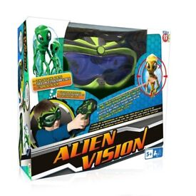 Alien Vision shooting Game SEE VIDEO two available, alien goggles and gun