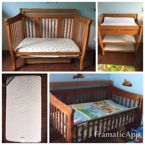 Storkcraft Convertible Crib and Change Table