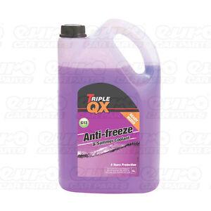 Triple-QX-5L-Purple-Antifreeze-Coolant-Long-Life-G13-5-Litre-Ltr-Ready-Mix
