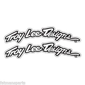 Troy Lee Designs TLD Arced Fender Decal Set- Motorcycle Dirt Bike Stickers