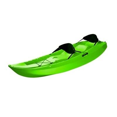 Lifetime 10 ft Sit-On-Top Tandem Kayak - Lime Green (90116) (Kayak Tandem Sit On Top)