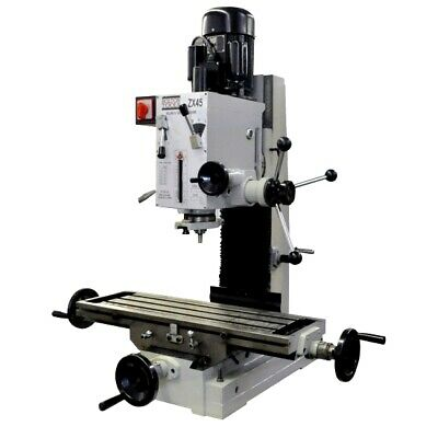 9 12 X 32 Gear-head Benchtop Milling Drilling Machine Zx45