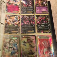 30 ex cards and 3 special full art rare!