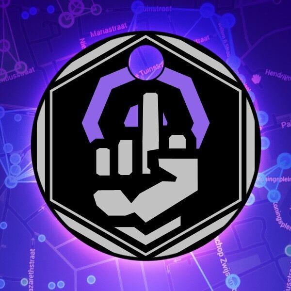 Ingress Anti Guardian Pathtag Geocaching Coin Token Resistance Enlightened
