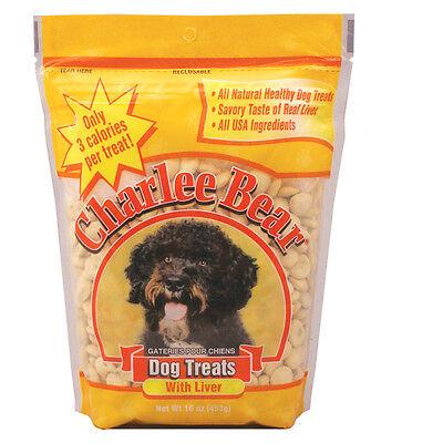 Charlee Bear 16 oz All Natural training Dog Treat W/Liver Flavor