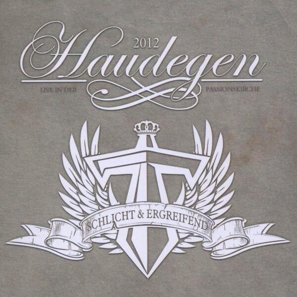 """HAUDEGEN """"SCHLICHT & ERGREIFEND (LIVE IN DER PASSIONSKIRCHE)"""" CD+DVD NEU"""