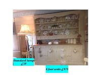 Country kitchen, authentic,waxed Welsh dresser, shabby chic